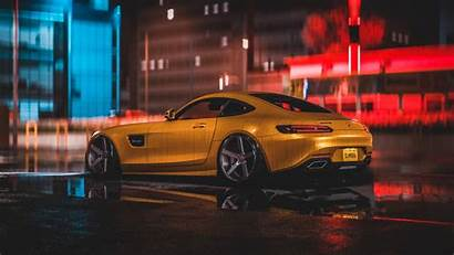 Mercedes 4k Amg Wallpapers Yellow Benz Cars