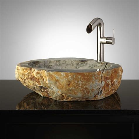 Vessel Sinks Glass, Copper, Steel & Stone  Signature