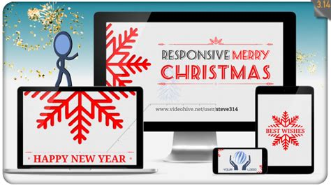 After Effects Template Christmas Greetings 2017 by Christmas Greetings After Effects Template Videohive