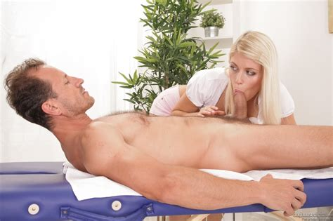 Erotic Massage Ends With A Blonde Getting A Hardcore Boning From A Male Client Youx Xxx