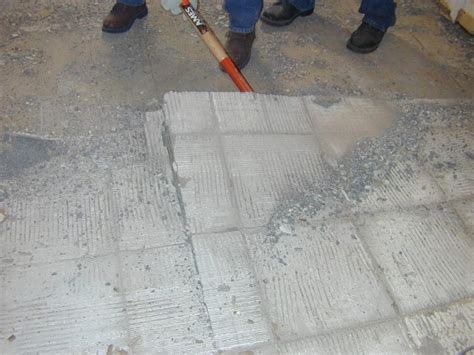remove tile flooring  tos diy