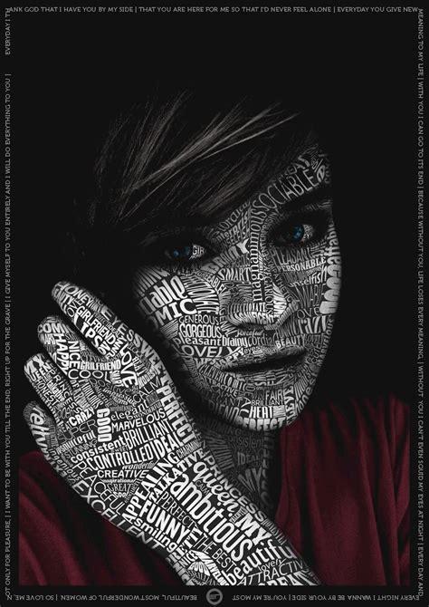 typography face by hayabussa on deviantart