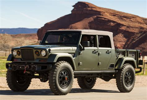 Jeep Wrangler Crew Chief by Jeep Crew Chief 715 Concept Jk 03 2016