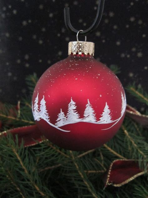 best 25 painted christmas ornaments ideas on pinterest