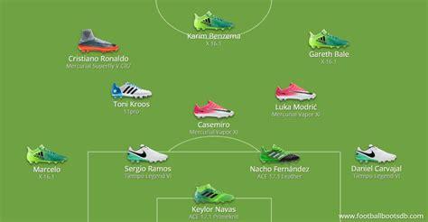 Real Madrid vs Barcelona - El Clásico Boot Lineups - Footy ...