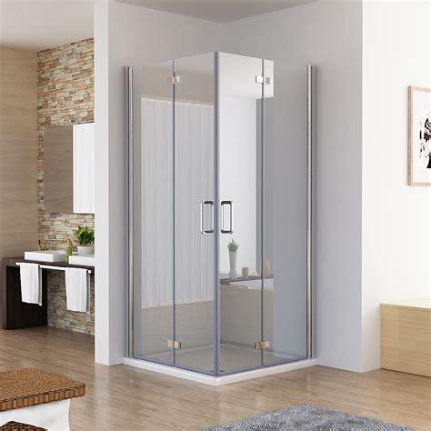 Bei idealo.de günstige preise für dusche eckeinstieg 100x80 vergleichen. 90 x 90 x 197 cm Eckeinstieg Falttür Duschkabine DA | MIQU