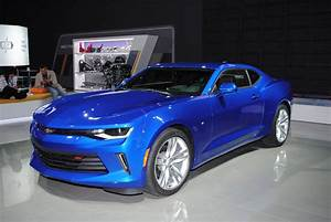 Detroit 2016  Chevrolet Camaro Ss And Rs
