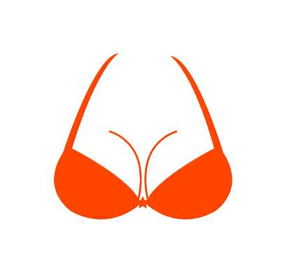 Bra Breast Silhouettes Silhouette Vector Svg Outline