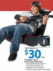 black friday deal v rocker euro sound gaming chair