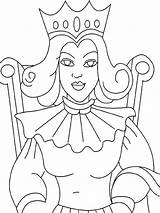 Queen Coloring Pages Colouring Printable Printables Recommended Whitesbelfast Huangfei Medieval Credit Save Info Colors Template Mycoloring sketch template
