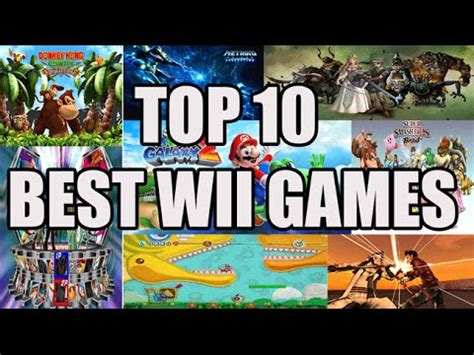 Top 10 Best Wii Games Youtube