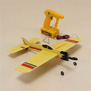 Assembly Electric Wire Control Aircraft Diy Model Plane