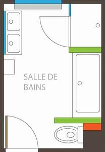 Salle De Bain 5m2 : les 25 meilleures id es de la cat gorie plan salle de bain ~ Dailycaller-alerts.com Idées de Décoration
