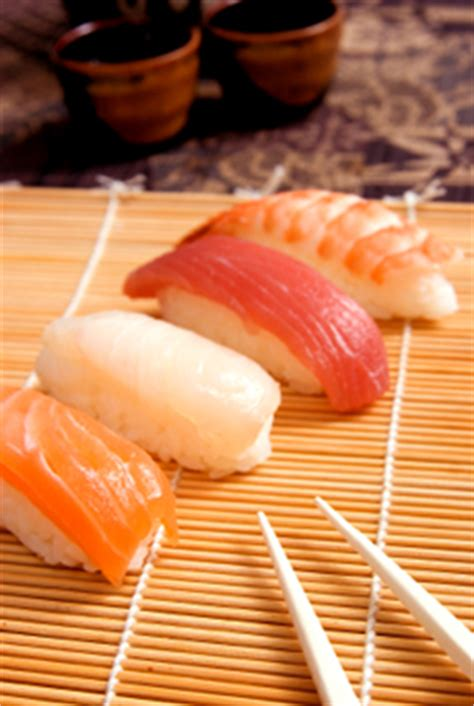 nibble  types  sushi