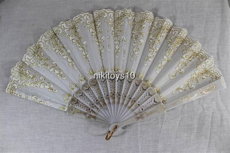 hand fans for wedding new spanish style dance party wedding lace folding hand