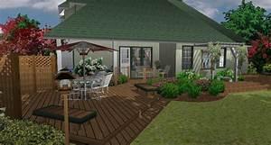 architecte 3d jardin et exterieur 2014 pour mac With maison jardin et terrasse 3d
