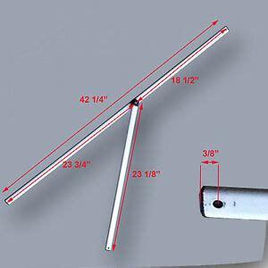 envoy  instant canopy gazebo  peak truss bar replacement parts ebay