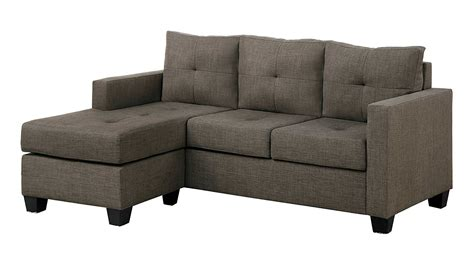 chaise microfibre microfiber sectional sofa with reversible chaise ottoman