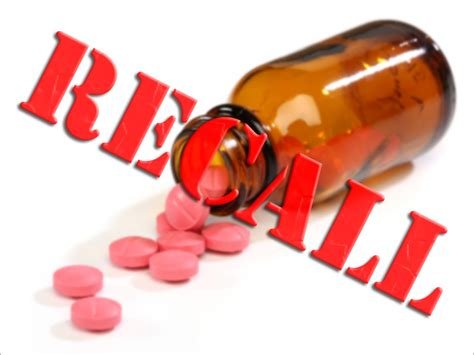 mislabeling prompts recall  ibuprofen  oxcarbazepine