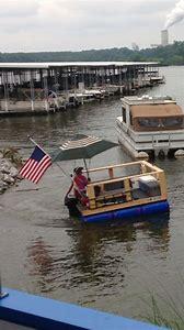 Redneck Homemade Pontoon Boat
