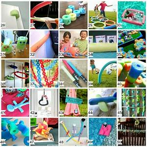 50 Cool Things to do with Pool Noodles - DIY Pool Noodle