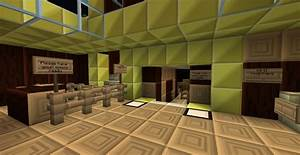 Fully Working Redstone Theatre Minecraft Project