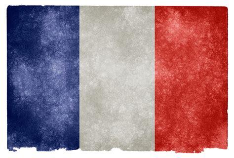 France Grunge Flags | Grunge textured flag of France on ...