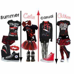 Scene/emo outfits | shoes | Pinterest | Emo outfits, Emo ...