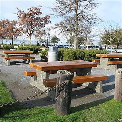 parks with picnic tables near me your steveston garry point park concession stand a must
