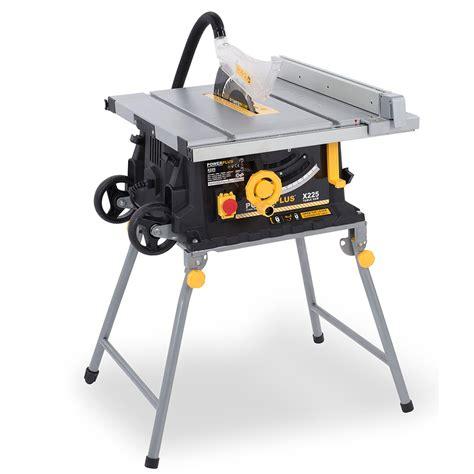 heavy duty table saw powerplus 254mm heavy duty table saw 2000w 240v ebay