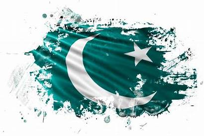 Pakistan Flag Pakistani Vector Illustrations Ink Clip