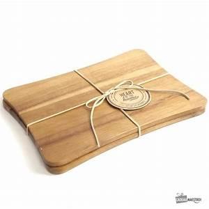 Set De Table : sets de table en bois x2 cadeau maestro ~ Teatrodelosmanantiales.com Idées de Décoration
