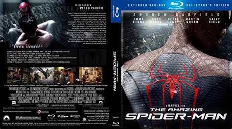 The Amazing Spider Man Movie Blu Ray Custom Covers The