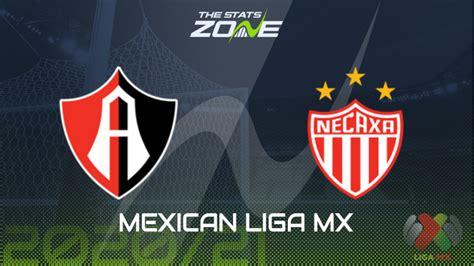 2020-21 Mexican Liga MX – Atlas vs Necaxa Preview ...