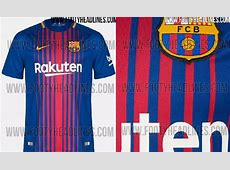 Barcelona Jersey 20172018 1617 Home Away and Third Kits