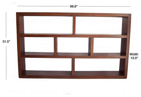 Wood Room Divider Bookcase by Large Modern Brown Solid Wood Alabama Bookcase