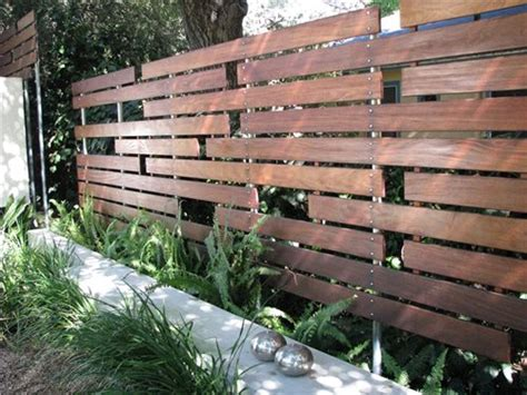 Backyard Wood Fence Ideas - modern fencing walls landscaping network