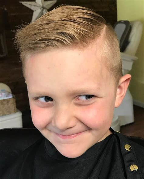 Boy Hairstyles by 31 Boys Haircuts 2019 Fades Pomps Lines More