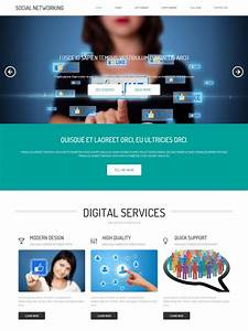 social networking site template social networking With social networking sites free templates download