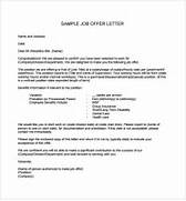 Sample Offer Letter Templates 11 Free Examples Format Employment Template For Offer Letter Sample Of Employment Offer Offer Of Employment Letter Sample SzlTLNzm Home Images Employment Letter Sample Employment Letter Sample Facebook