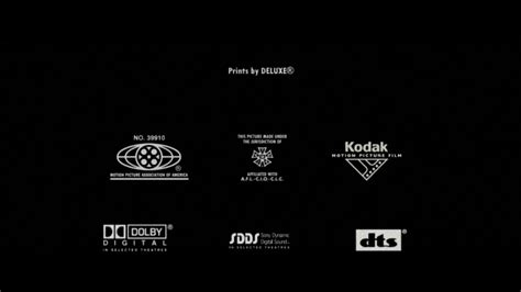 Dts logo, es un sistema digital de codificación de sonido que permite la existencia de 6 canales independientes de audio en una sola señal comprimida. Math Sucks 2003 credits - YouTube