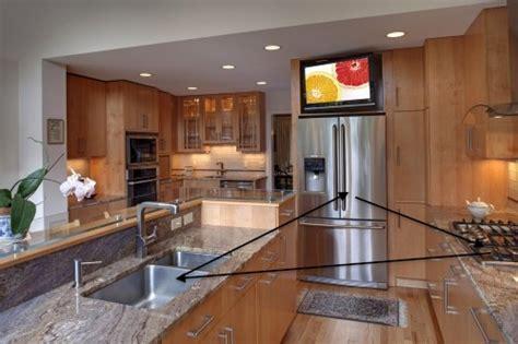 Kitchen Triangle Design   Case Design/Remodeling of San Jose