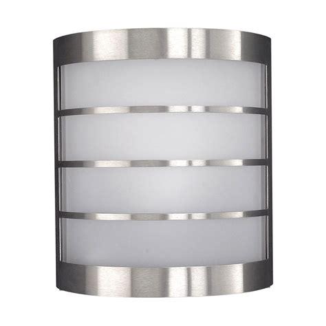massive 17173 47 10 calgary 12 w stainless steel wall