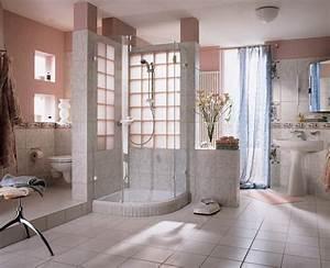 le pave de verre voir les meilleures idees archzinefr With mur en brique de verre salle de bain