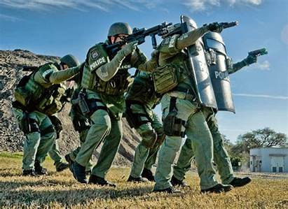 Swat Tactical Team Background Police Action Wallpapers