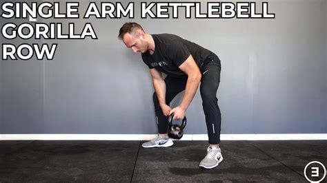 kettlebell gorilla row