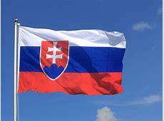 Große Slowakei Flagge 150 x 250 cm FlaggenPlatzde