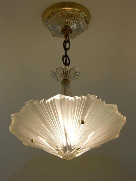 chandeliers and lighting fixtures c 30 39 s vintage art deco ceiling light fixture chandelier