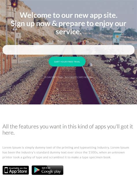 templates scroll page bootstrap 40 fresh free html5 bootstrap templates 2018