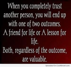 Friends Dont Trust Quotes. QuotesGram